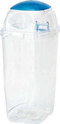 積水 透明エコダスターN 60L ビン用【TPDR6B】(清掃用品・ゴミ箱)