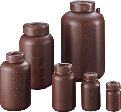 サンプラ PE広口遮光瓶 100ml【2910】(ボトル・容器・ビン)