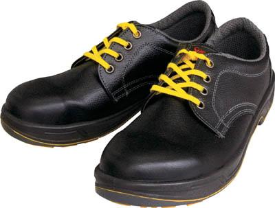 シモン 静電安全靴 短靴 SS11黒静電靴 25.5cm【SS11BKS-25.5】(安全靴・作業靴・静電安全靴)