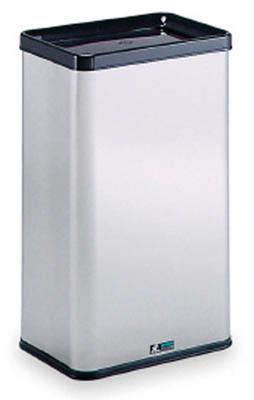 テラモト ステンエルボックス中缶付【DS-213-120-0】(清掃用品・ゴミ箱)