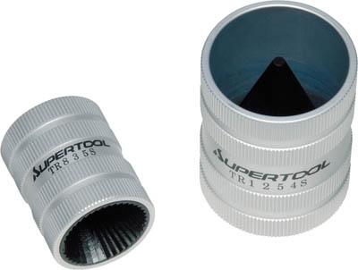 スーパー ステンレス管用チューブリーマー(12~54用)【TR-1254S】(水道・空調配管用工具・チューブカッター)