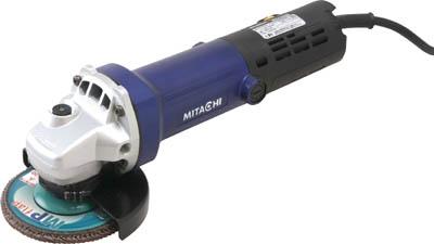 ミタチ 無段変速100mm電子ディスクグラインダ【MGV100BD】(電動工具・油圧工具・ディスクグラインダー)