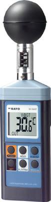 佐藤 熱中症暑さ指数計【SK-150GT】(計測機器・温度計・湿度計)