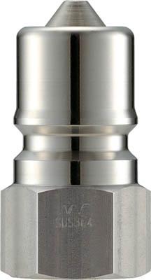ナック クイックカップリング SPE型 ステンレス製 大流量型 オネジ取付用【CSPE08P3】(流体継手・チューブ・カップリング)