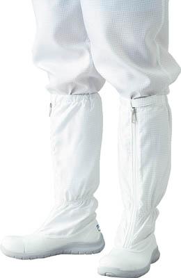 ADCLEAN シューズ・安全靴ロングタイプ 24.5cm【G7760-1-24.5】(安全靴・作業靴・静電作業靴)