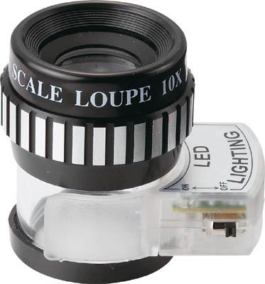SK ライトスケールルーペ【LSL-35】(光学・精密測定機器・ルーペ)【送料無料】