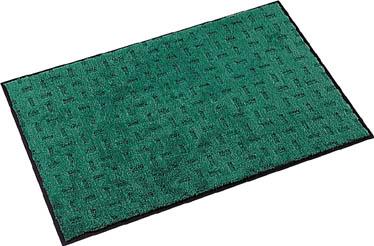 テラモト エコレインマット900×1500mmグリーン【MR-026-146-1】(床材用品・マット)