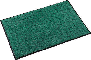 テラモト エコレインマット900×1800mmグリーン【MR-026-148-1】(床材用品・マット)