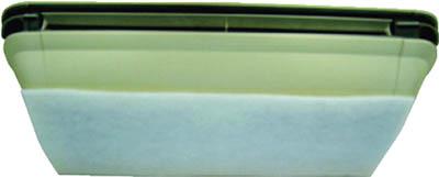 橋本 カットフィルター 400×400mm (50枚/箱)【L4040】(工業用フィルター・配管用フィルター)