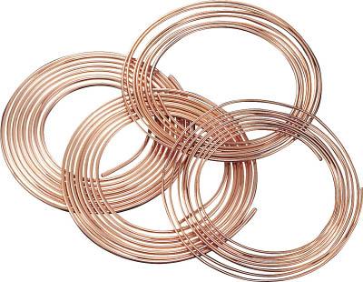 SUMITOMO 空調冷媒用軟質銅管10mコイル【NDK-0808-10】(管工機材・小径配管継手)【送料無料】