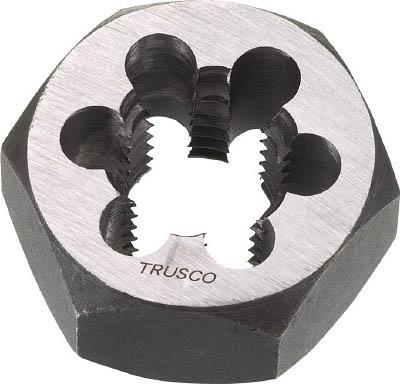 TRUSCO 六角サラエナットダイス PT1-11【TD6-1PT11】(ねじ切り工具・ねじ山修正工具)