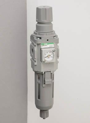 CKD モジュラータイプセレックスFRL 2000シリーズ【W2000-10-W-F1】(空圧・油圧機器・エアユニット)
