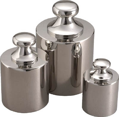 ViBRA 円筒分銅 超特価 安心の定価販売 1kg M1級 計測機器 M1CSB-1K はかり