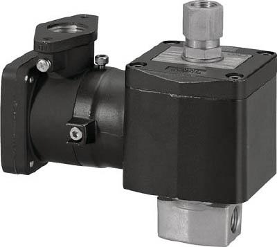 CKD 直動式 防爆形3ポート弁 ABシリーズ(空気・水用)【AG41E4-02-2-03T-AC100V】(空圧・油圧機器・電磁弁)