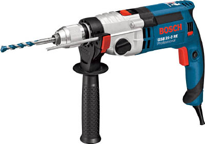 ボッシュ キーレス振動ドリル【GSB21-2RE】(電動工具・油圧工具・電気ドリル)