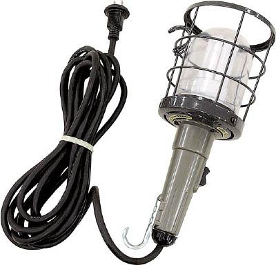 ハタヤ 防雨型蛍光灯ハンドランプ 単相100V 20W 電線5m付【CWF-5H】(作業灯・照明用品・作業灯)