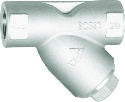 ヨシタケ Y形ストレーナ(80メ) 15A【SY-17-80M-15A】(管工機材・バルブ)