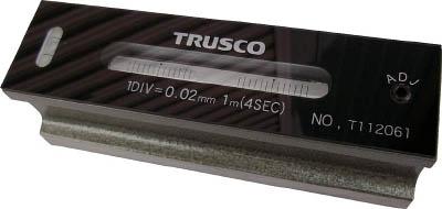 TRUSCO 平形精密水準器 B級 寸法300 感度0.02【TFL-B3002】(測定工具・スコヤ・水準器)【送料無料】