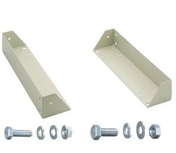 TRUSCO M2型棚用キャスターベースユニット D450用【CUD-M2-450】(物品棚・中量棚)