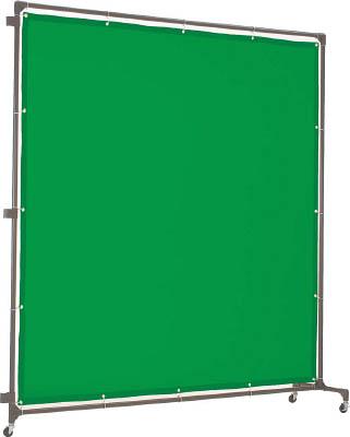 TRUSCO 溶接遮光フェンス 2020型接続 緑【YFAS-GN】(溶接用品・溶接遮光フェンス)