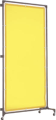 TRUSCO 溶接遮光フェンス 1020型接続 黄【YFBS-Y】(溶接用品・溶接遮光フェンス)