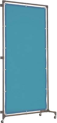 TRUSCO 溶接遮光フェンス 1020型接続 ブルー【YFBS-B】(溶接用品・溶接遮光フェンス)