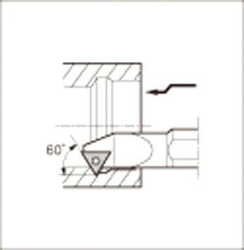 京セラ 内径加工用ホルダ 【S16Q-STWPR11-20】(旋削・フライス加工工具・ホルダー)【int_d11】