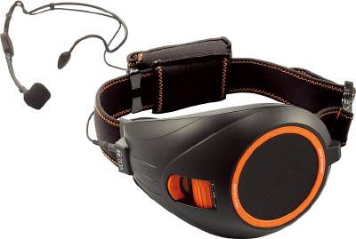 TOA ハンズフリー拡声器(黒)【ER-1000BK】(安全用品・標識・拡声器)