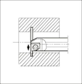 格安販売中 溝入れ用ホルダ 【KIGHR4532B-5】(旋削・フライス加工工具・ホルダー):リコメン堂 京セラ-DIY・工具