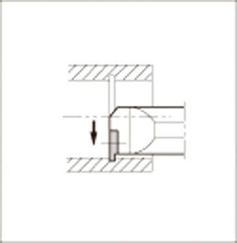 京セラ 溝入れ用ホルダ 【KITGR3525T-16】(旋削・フライス加工工具・ホルダー)