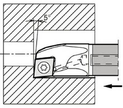 若者の大愛商品 京セラ 【E12Q-SCLCR06-14A】(旋削・フライス加工工具・ホルダー):リコメン堂 内径加工用ホルダ-DIY・工具