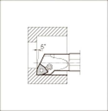 京セラ 内径加工用ホルダ 【S16M-PWLNR06-20】(旋削・フライス加工工具・ホルダー)