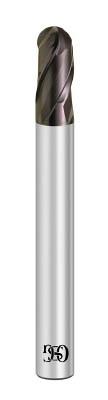 OSG 超硬エンドミル FX 3刃ボール(高能率) R5X10【FXS-EBT-R5X10】(旋削・フライス加工工具・超硬ボールエンドミル)