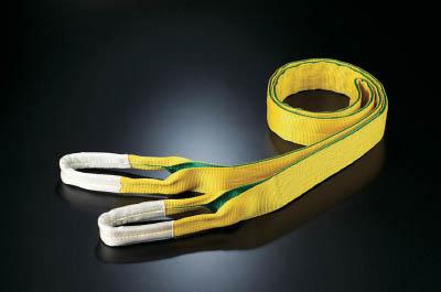 田村 ベルトスリング Zタイプ 4E 100×4.0【ZE1000400】(吊りクランプ・スリング・荷締機・ベルトスリング)