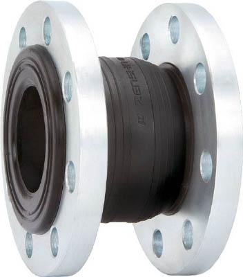 ゴム製防振継手(フランジ型)【ZRJ-B-40】(管工機材・フレキ管)