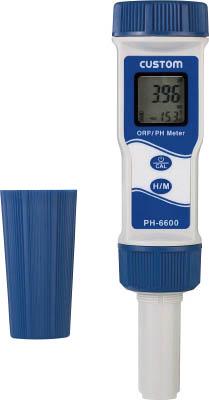 カスタム 防水ORP・PH計【PH-6600】(計測機器・水質・水分測定器)
