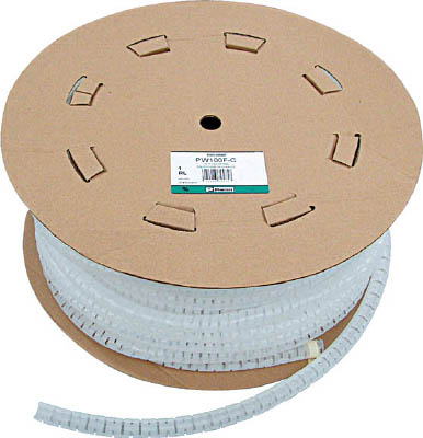 パンドウイット 電線保護材 パンラップ 難燃性白【PW50FR-TY】(梱包結束用品・結束バンド)【S1】