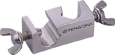 テラオカ ステンレス製角ムッフ T-20A【22-0202-10】(理化学・クリーンルーム用品・実験用スタンド)