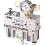 日本精器 FRLユニット8A一体型【BN-2510-8】(空圧・油圧機器・エアユニット)【送料無料】