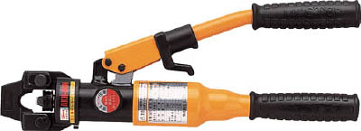 エビ 手動油圧式圧着工具 使用範囲14・22・38・60【AKH60N】(電設工具・油圧式圧着工具)(代引不可)