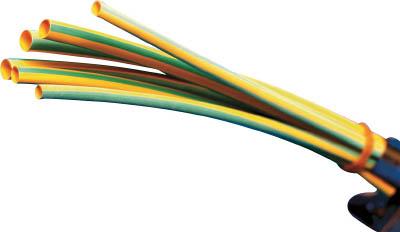 パンドウイット 熱収縮チューブ イエローグリーン【HSTT12-48-Q45】(電設配線部品・収縮チューブ)