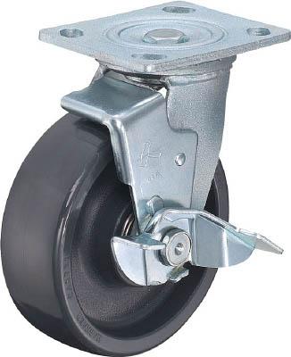 ハンマー 500型 自在SP付 特殊樹脂車 150mm【519BPS-HBN150-BAR01】(キャスター・重荷重用キャスター)