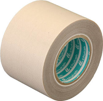 チューコーフロー 性能向上ふっ素樹脂粘着テープ ガラスクロス 0.24-25×1【AGF101-24X25】(テープ用品・保護テープ)