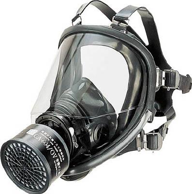 シゲマツ 直結式防毒マスク中濃度タイプ【GM-164】(保護具・防毒マスク)