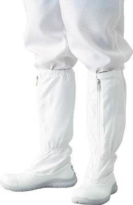 ADCLEAN シューズ・安全靴ロングタイプ 24.0cm【G7760-1-24.0】(安全靴・作業靴・静電作業靴)
