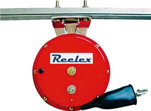 Reelex 自動巻アースリール 吊下げ取付タイプ【ER-310C】(コードリール・延長コード・電源リール)【S1】