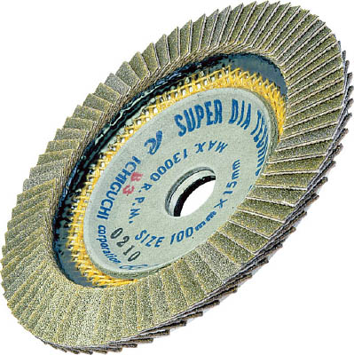 AC スーパーダイヤテクノディスク 100X15 #100【SDTD10015-100】(研削研磨用品・ディスクペーパー)
