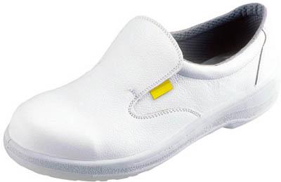 シモン 静電安全靴 短靴 7517白静電靴 27.0cm【7517WS-27.0】(安全靴・作業靴・静電安全靴)