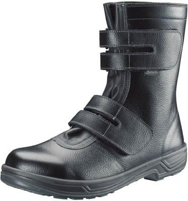 シモン 安全靴 長編上靴マジック式 SS38黒 27.0cm【SS38-27.0】(安全靴・作業靴・安全靴)