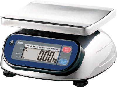 A&D 防塵防水デジタルはかり(検定付)【SK20KIWP】(計測機器・はかり)